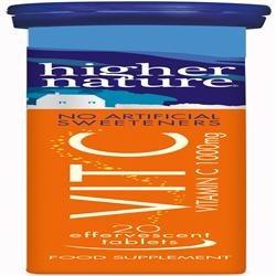 Higher Nature Fizzy C Effervescent Vitamins 20 tablet