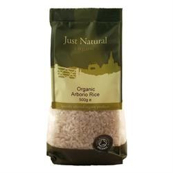 Just Natural Organic Org Arborio Rice 500g