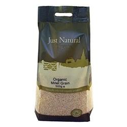 Just Natural Organic Org Millet Grain 500g