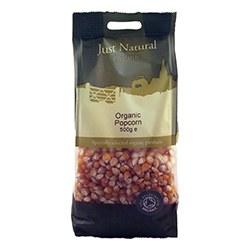 Just Natural Organic Org Popping Corn 500g