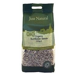 Just Natural Organic Org Sunflower Seeds 500g