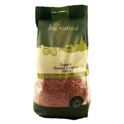 Just Natural Organic Org Golden Linseed 500g