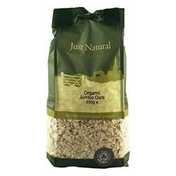 Just Natural Organic Org Jumbo Oats 350g
