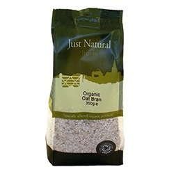 Just Natural Organic Org Oat Bran 350g