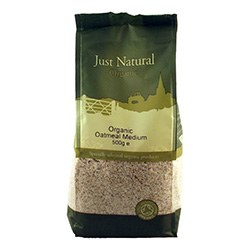 Just Natural Organic Org Oatmeal Medium 500g