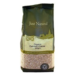 Just Natural Organic Org Oatmeal Coarse 500g