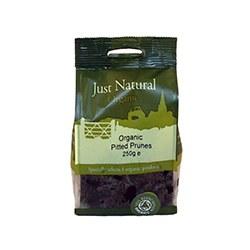 Just Natural Organic Org Pitted Prunes 250g