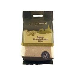 Just Natural Organic Org Almonds Ground 220g