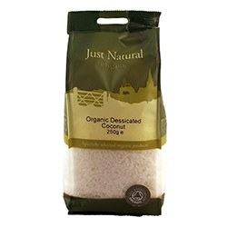 Just Natural Organic Org Coconut Desiccated 250g
