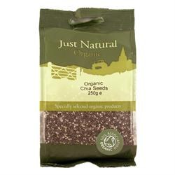 Just Natural Organic Org Chia Seeds 250g
