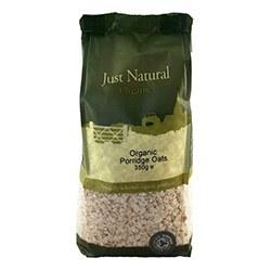 Just Natural Organic Org Porridge Oats 350g