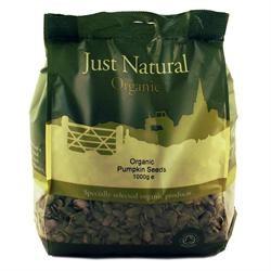 Just Natural Organic Org Pumpkin Seeds 1000g