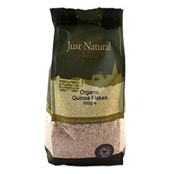 Just Natural Organic Org Quinoa Flakes 350g