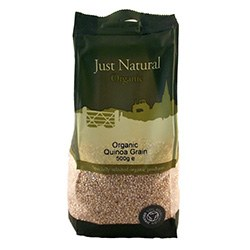 Just Natural Organic Org Quinoa Grain 500g