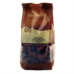 Just Natural Wholesome Apricots Unsulphured 500g
