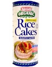 Kallo Rice Cakes Slightly Salted 130g