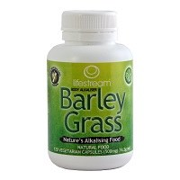 Lifestream Organic Barley Grass 500mg 120 capsule