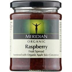 Meridian Org Raspberry Fruit Spread 284g