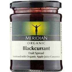 Meridian Org Blackcurrant Fruit Spread 284g