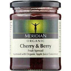 Meridian Org Cherry & Berr Fruit Spread 284g