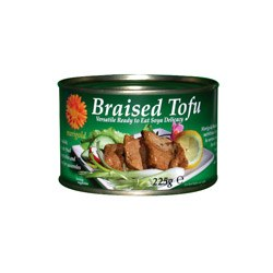 Marigold Braised Tofu in Can 225g