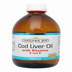 Natures Aid Cod Liver Oil Liquid 500ml