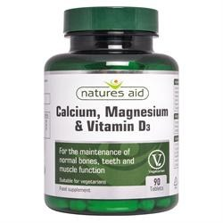 Natures Aid Calcium Magnesium & Vit D3 90 tablet