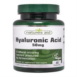 Natures Aid Hyaluronic Acid 60 Caps