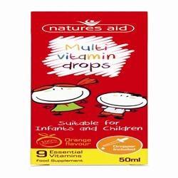 Natures Aid Childrens Multi-Vitamin Drops 50ml