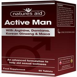 Natures Aid Active Man 60 tablet