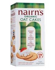 Nairns Organic Oat Cakes 250g