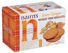 Nairns Stem Ginger Biscuit 200g