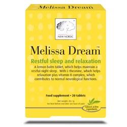 New Nordic Melissa Dream 20 tablet