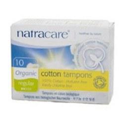 Natracare Org Non Applicator Tampons Reg 10pieces