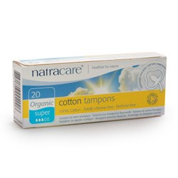 Natracare Org Non Applicator Tamp Super 20pieces