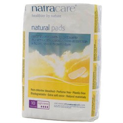 Natracare Maxi Pads Night Time 10 box