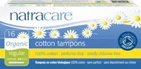 Natracare Org Applicator Tampons Regular 16pieces