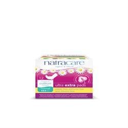 Natracare Ultra Extra Pads Normal 12pads