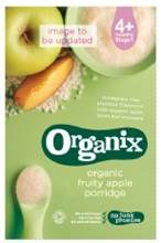 Organix Fruity Apple Baby Porridge 120g