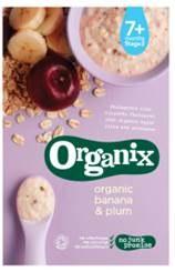 Organix Banana/Plum Orgc Baby Porridge 200g