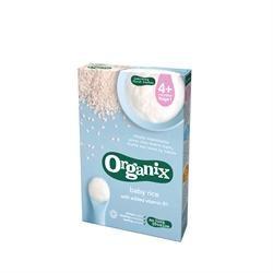 Organix Baby Rice 6+ months 100g