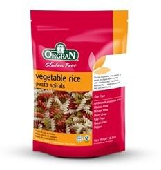 Orgran Vegetable Rice Spirals 250g