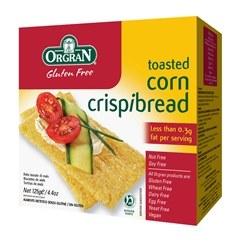 Orgran Corn Crispbread 125g