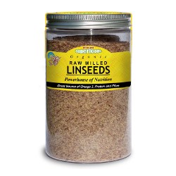 Of The Earth Organic Raw Milled Linseeds 180g