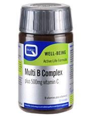 Quest Vitamins Ltd Multi B Complex + 500mg C 30 tablet