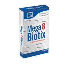 Quest Vitamins Ltd Mega 8 Biotix 30 capsule