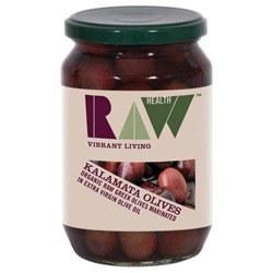 Raw Health Org Kalamata Olives 330g