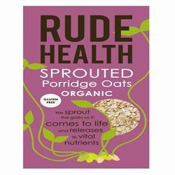 Rude Health Org GF Sprouted Porridge Oats 500g