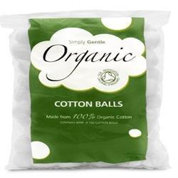 Simply Gentle Org Cotton Balls 100balls