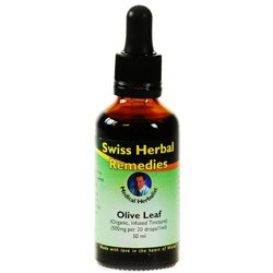 Swiss Herbal Remedies Ltd  Olive Leaf 50ml
